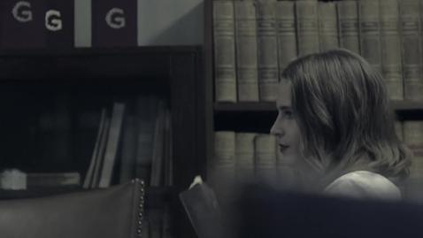 Tumnagel för Bli humanist! Träffa Rebecka Vilhonen som tog studieuppehåll för att bli kårordförande.