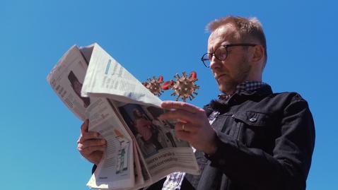Tumnagel för Corona och hotet mot journalistiken