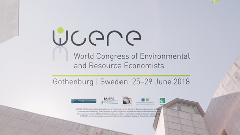 Tumnagel för Gothenburg WCERE 2018 – 6th World Congress of Environmental and Resource Economists