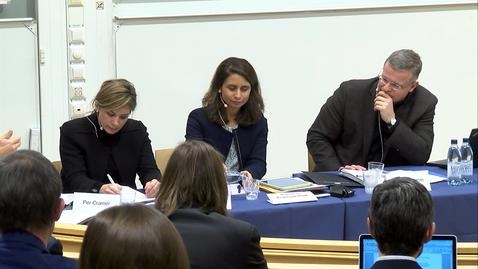 Tumnagel för Interdisciplinary Conference on the Transatlantic Trade and Investment Partnership