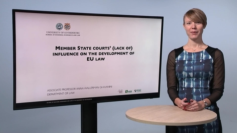 Tumnagel för Member state courts' (lack of) influencing on the development of EU law