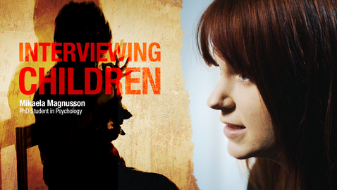 Tumnagel för How to interview child witnesses?
