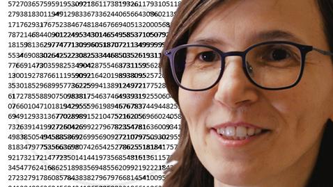 Tumnagel för Pi och det oändliga antalet decimaler