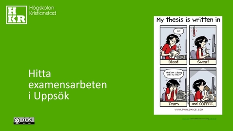 Miniatyr för inlägg Hitta examensarbeten i Uppsök