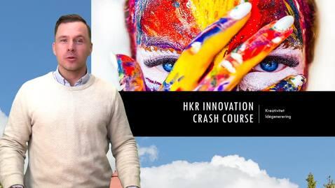 Miniatyr för inlägg HKR Innovation - Crash Course