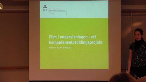 Miniatyr för inlägg Film i undervisningen - ett kompetensutvecklingsprojekt