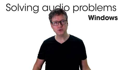 Miniatyr för inlägg Solving audio problems - Windows