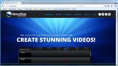 Miniatyr för inlägg OpenShot gratis filmredigering - mer avancerad redigering