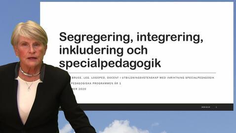 Miniatyr för inlägg Segregering, integrering, inkludering och specialpedagogik