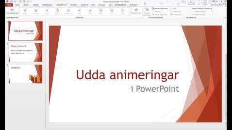 Miniatyr för inlägg Udda animeringar i PowerPoint