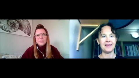 Miniatyr för inlägg Pernilla Garmy intervjuar distriktssköterska Elin Bergholtz