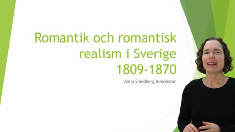 Miniatyr för inlägg Romantik och romantisk realism i Sverige 1809-1870