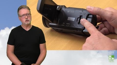 Miniatyr för inlägg Nya kameror och mikrofoner