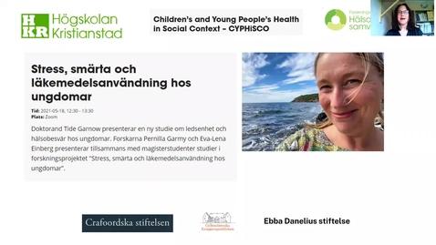 Miniatyr för inlägg Stress, smärta och läkemedelsanvändning hos ungdomar