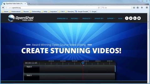 Miniatyr för inlägg OpenShot gratis filmredigering - enkel redigering