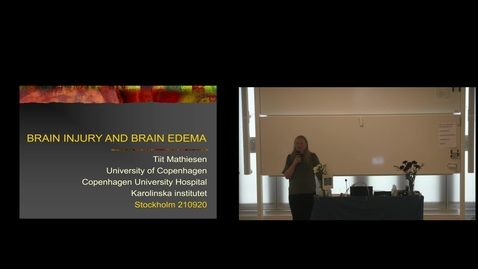 """Thumbnail for entry Teng Wang PhD Defense at CBH/KTH - 210920: """"Electroosmosis Based Treatment Approach for Cerebral Edema - Evaluated with Finite Element Head Models""""  by @cko Carlson"""