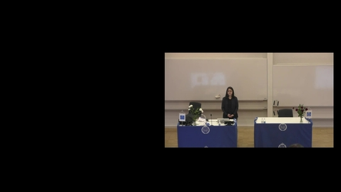 """Thumbnail for entry Anaclaudia Montanino PhD Defense at CBH/KTH - 200214: """"Definition of axonal injury tolerances across scales - A computational multiscale approach"""""""