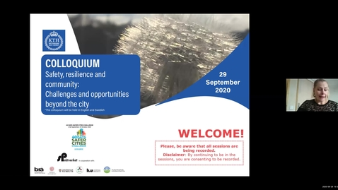 Thumbnail for entry Session 10 - Environmental crime and governance