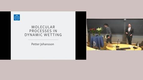 Thumbnail for entry Petter Johansson's dissertation, F3, 16 april 2020, 9.00 (full capture)