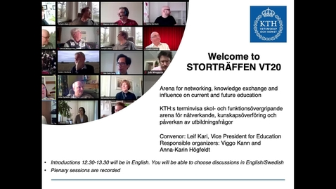 Thumbnail for entry Storträffen Vår 2020 Part 1