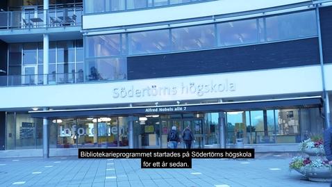 Miniatyr för inlägg Biblioteksprogrammet -ett samarbete mellan Södertörns högskola och Botkyrka kommun