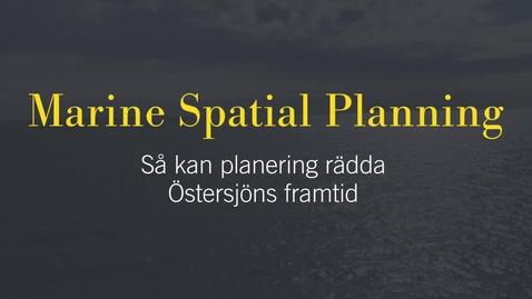 Miniatyr för inlägg Kira Gee om havsplanering