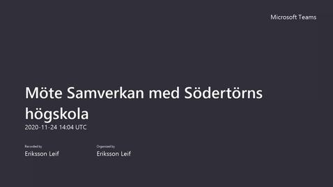 Konferens om strategiskt partnerskap med Botkyrka kommun