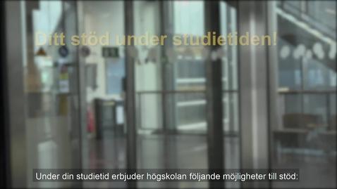 Miniatyr för inlägg Stödfunktioner på Södertörns högskola