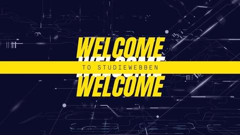 Miniatyr för inlägg Welcome to studiewebben