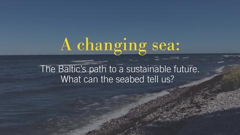 Miniatyr för inlägg A changing sea