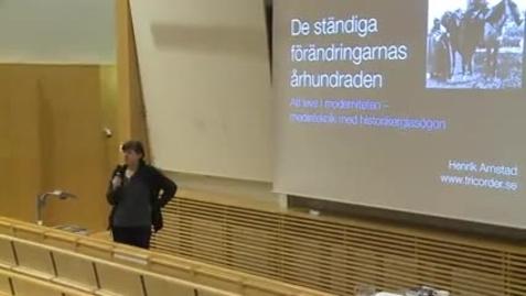 Miniatyr för inlägg Henrik Arnstad  - De ständiga förändringarnas århundraden  /2014