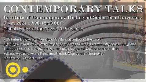 Miniatyr för inlägg Global Politics of the Covid-19 Pandemic