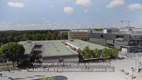 Miniatyr för inlägg Välkommen till Campus Flemingsberg!