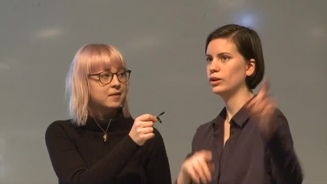 Miniatyr för inlägg Rebekka Quiroz Wiberg & Sanna Wickman  – Interaktionsdesign / 2016
