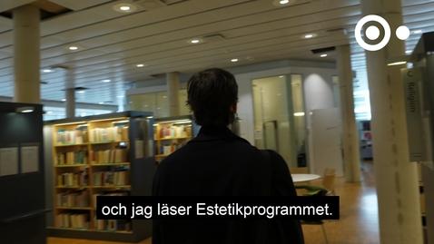 """Miniatyr för inlägg """"Man får en bred utbildning inom konst, filosofi och litteraturvetenskap"""""""