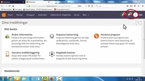 Miniatyr för inlägg Allt om meddelande funktionen i studiewebben - textad version