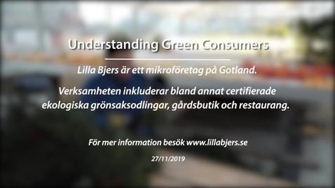 Miniatyr för inlägg Module 2: Understanding Green Consumers. Lilla Bjers