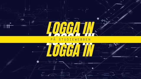 Miniatyr för inlägg Logga in på Studiewebben