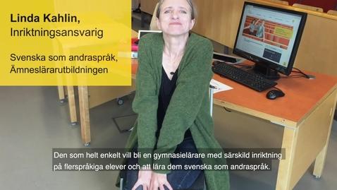 Miniatyr för inlägg Svenska som andraspråk - äntligen på Södertörn!