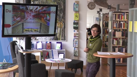 Thumbnail for entry Föredragsserien 12 minuter över 12 – Sarah Ljungquist