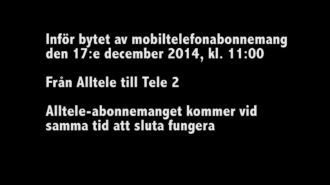 Thumbnail for entry Byte av telefonabonnemang HiG 2014