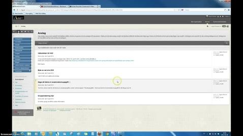 Thumbnail for entry Betygsätta med bokstav kursadministration Blackboard Learn 9.1 (1)