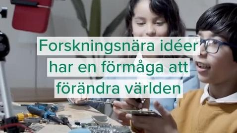 Thumbnail for entry Stöd för idéutveckling från Idéfabriken och Movexum