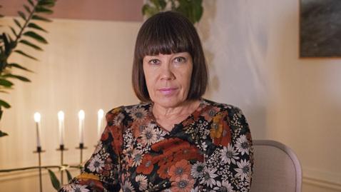 Thumbnail for entry Julhälsning från rektor Ylva Fältholm
