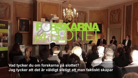 Thumbnail for entry Deltagare Forskarna på slottet 180327