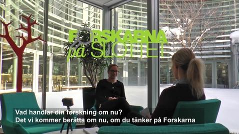 Thumbnail for entry Forskare Maria Engström