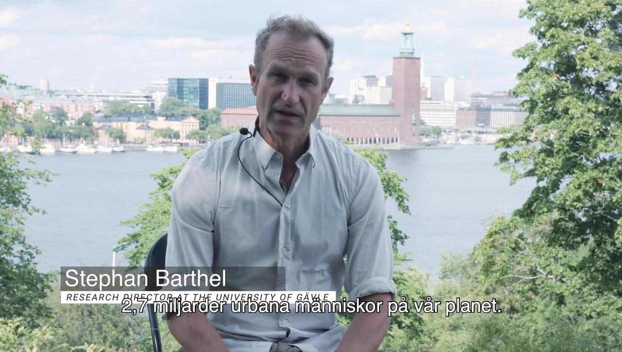 Stephan Barthel om Future-Proof Cities (svensk textning)