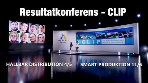 Thumbnail for entry CLIP resultatkonferens