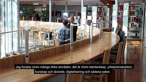 Thumbnail for entry Göran Fransson inför Forskarna på slottet oktober 2018