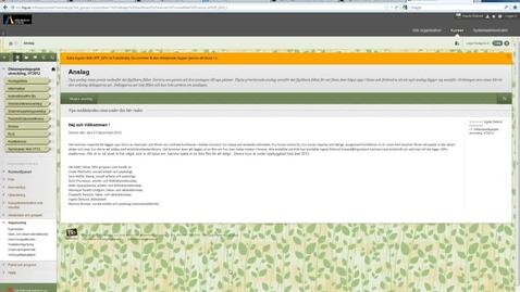 Thumbnail for entry Oppna och stanga kurs Blackboard Learn 9.1